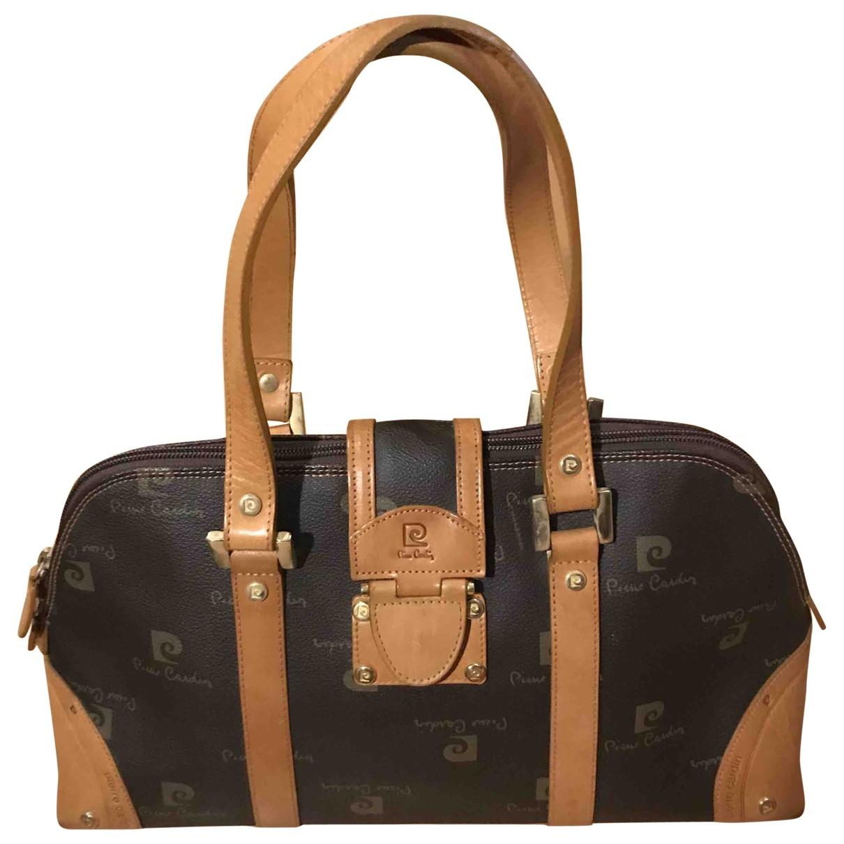 Pierre Cardin \N Brown Cloth handbag for Women \N