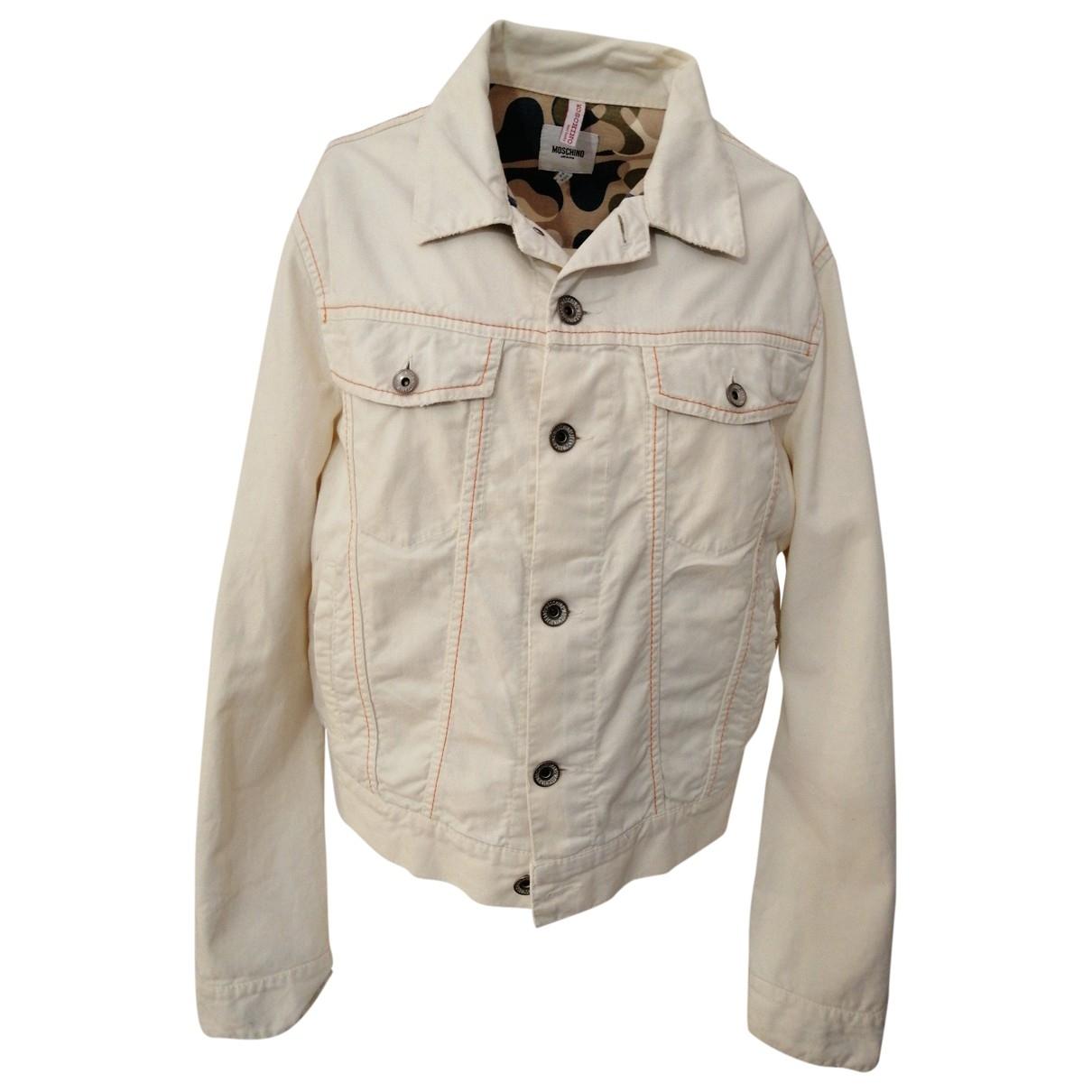 Moschino \N White Cotton jacket  for Men 50 IT
