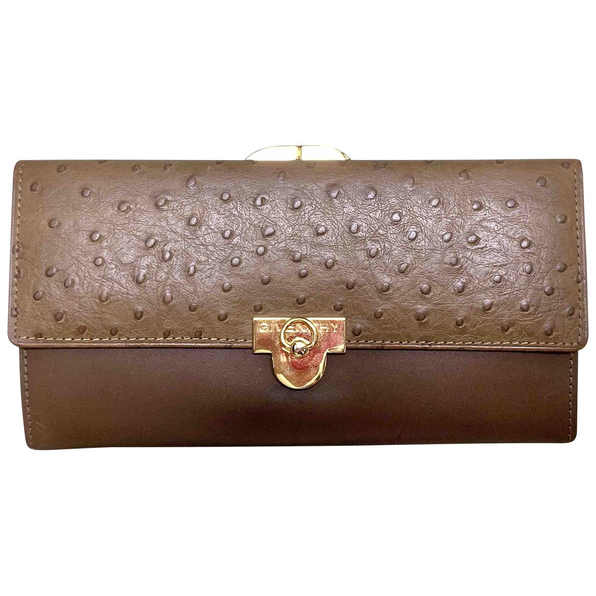 Cartera de Avestruz Givenchy