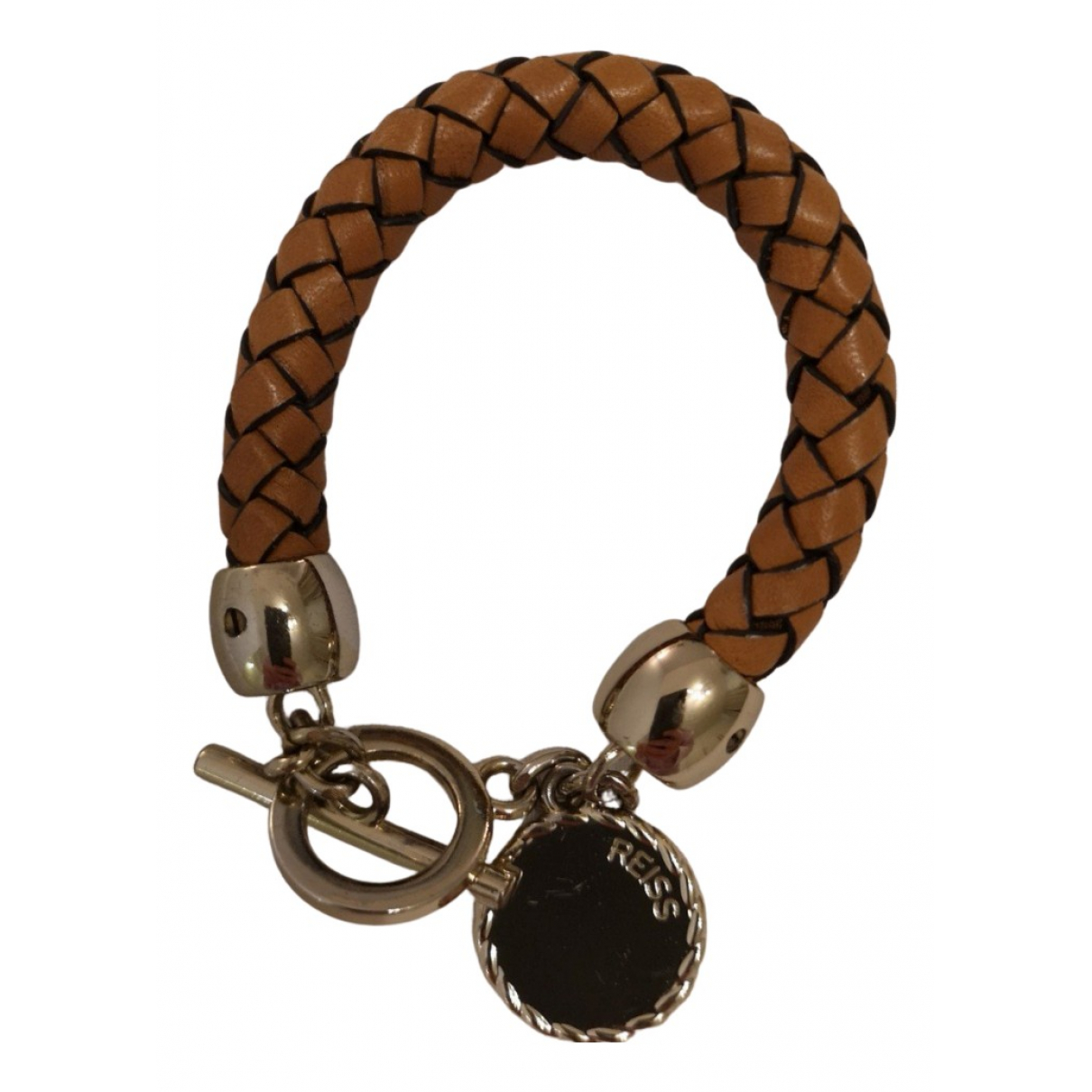 Reiss N Brown Leather bracelet for Women N