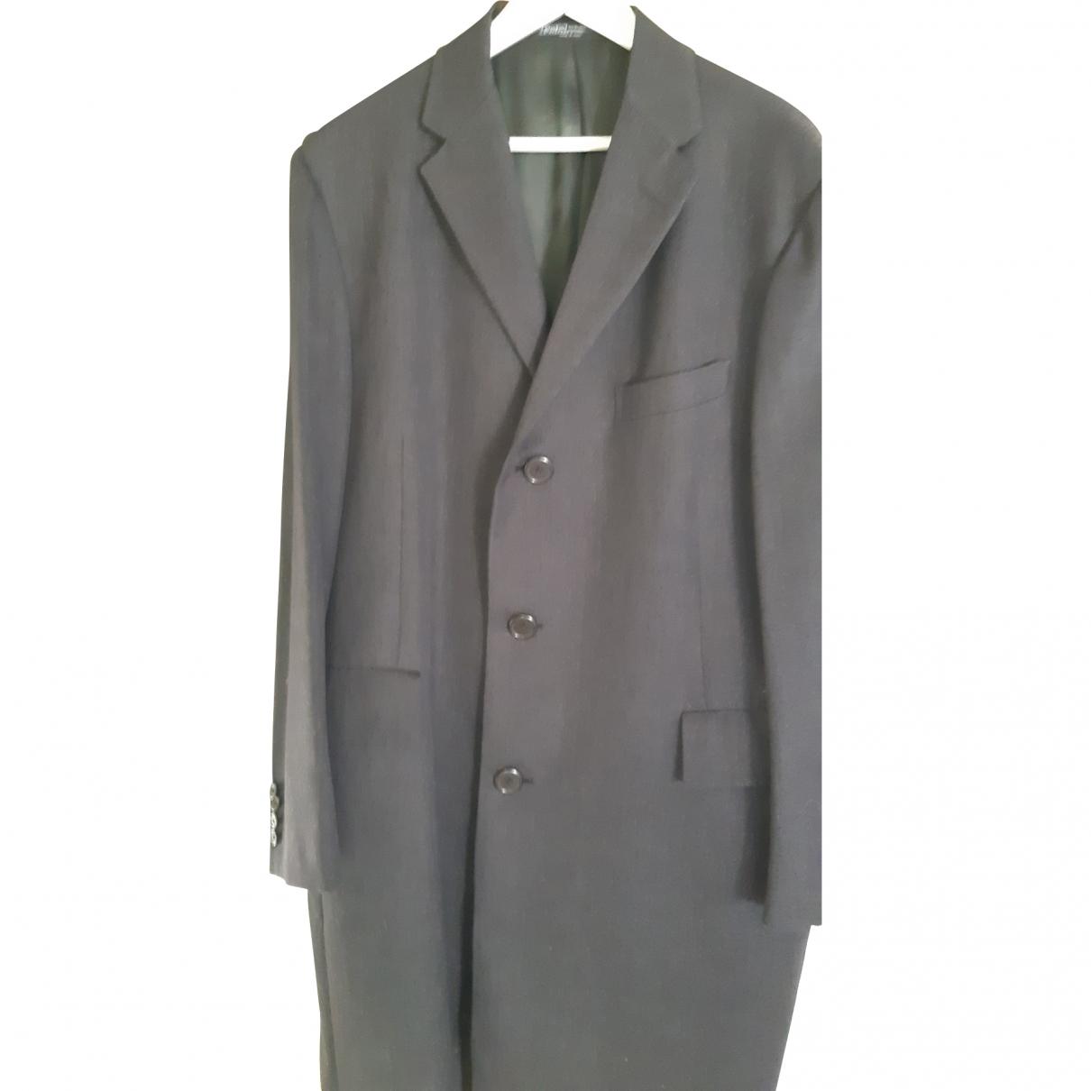 Polo Ralph Lauren - Manteau   pour homme en laine - anthracite