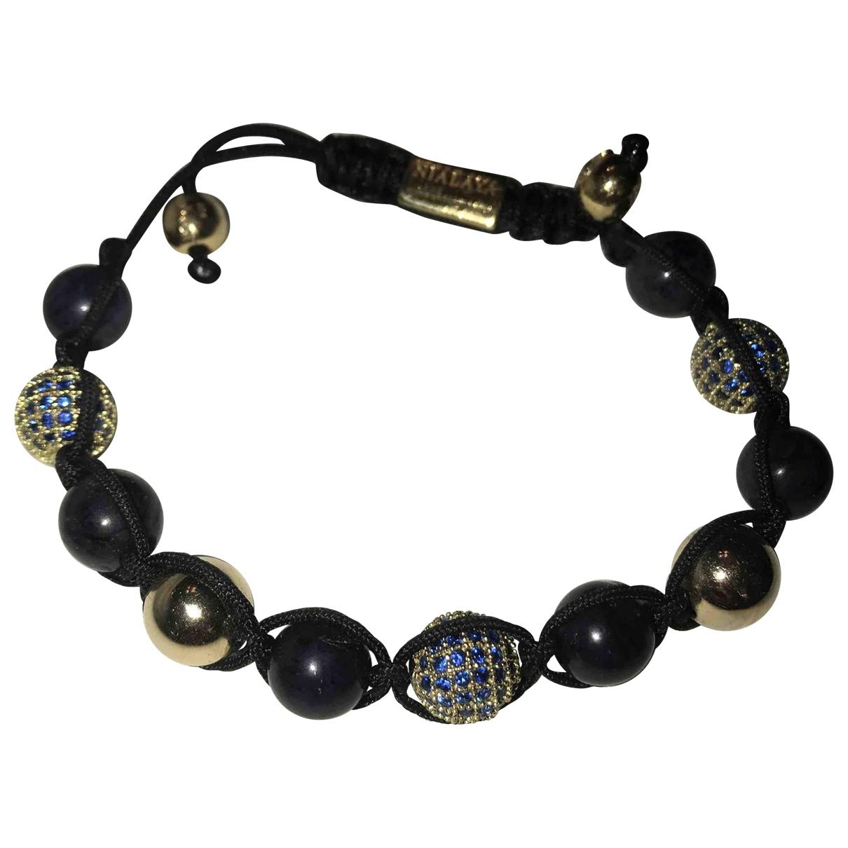 Nialaya \N Beige Yellow gold bracelet for Women \N