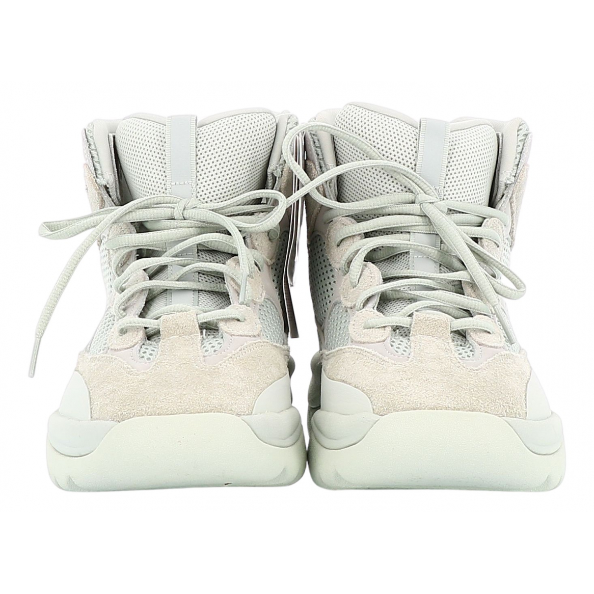 Yeezy X Adidas \N Beige Leather Boots for Men 43 EU