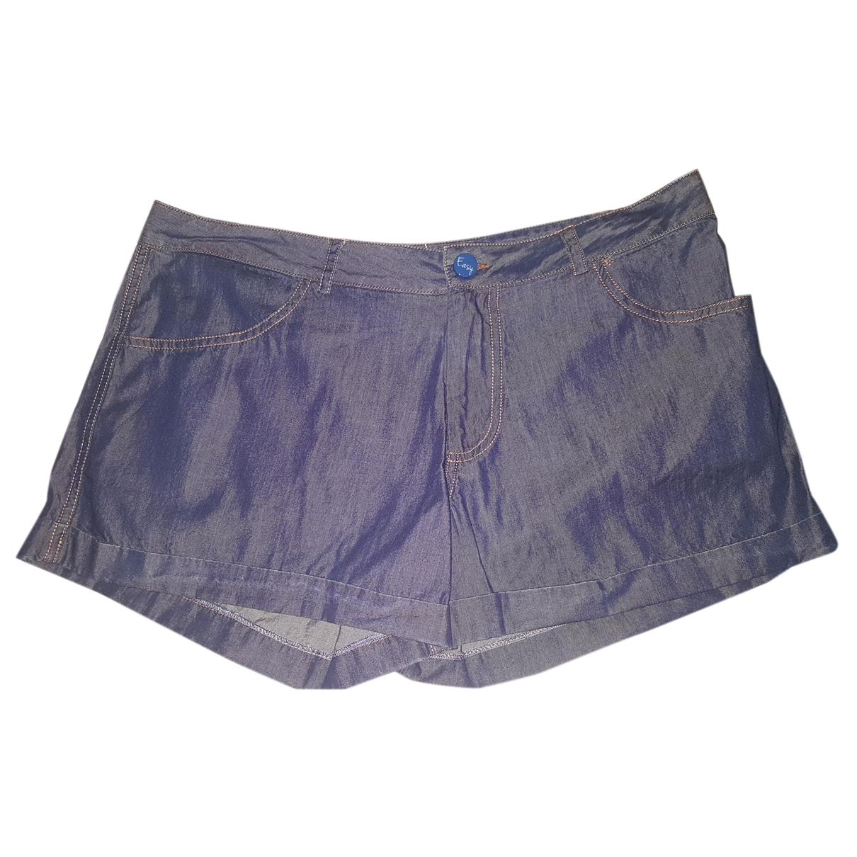 Non Signé / Unsigned \N Blue Denim - Jeans Shorts for Women 3 0-5