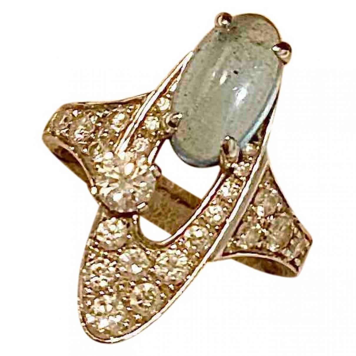 Bvlgari Elisia Ring in  Silber Weissgold