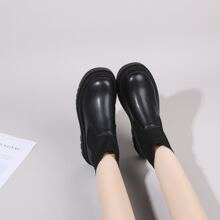 Botas calcetines minimalista