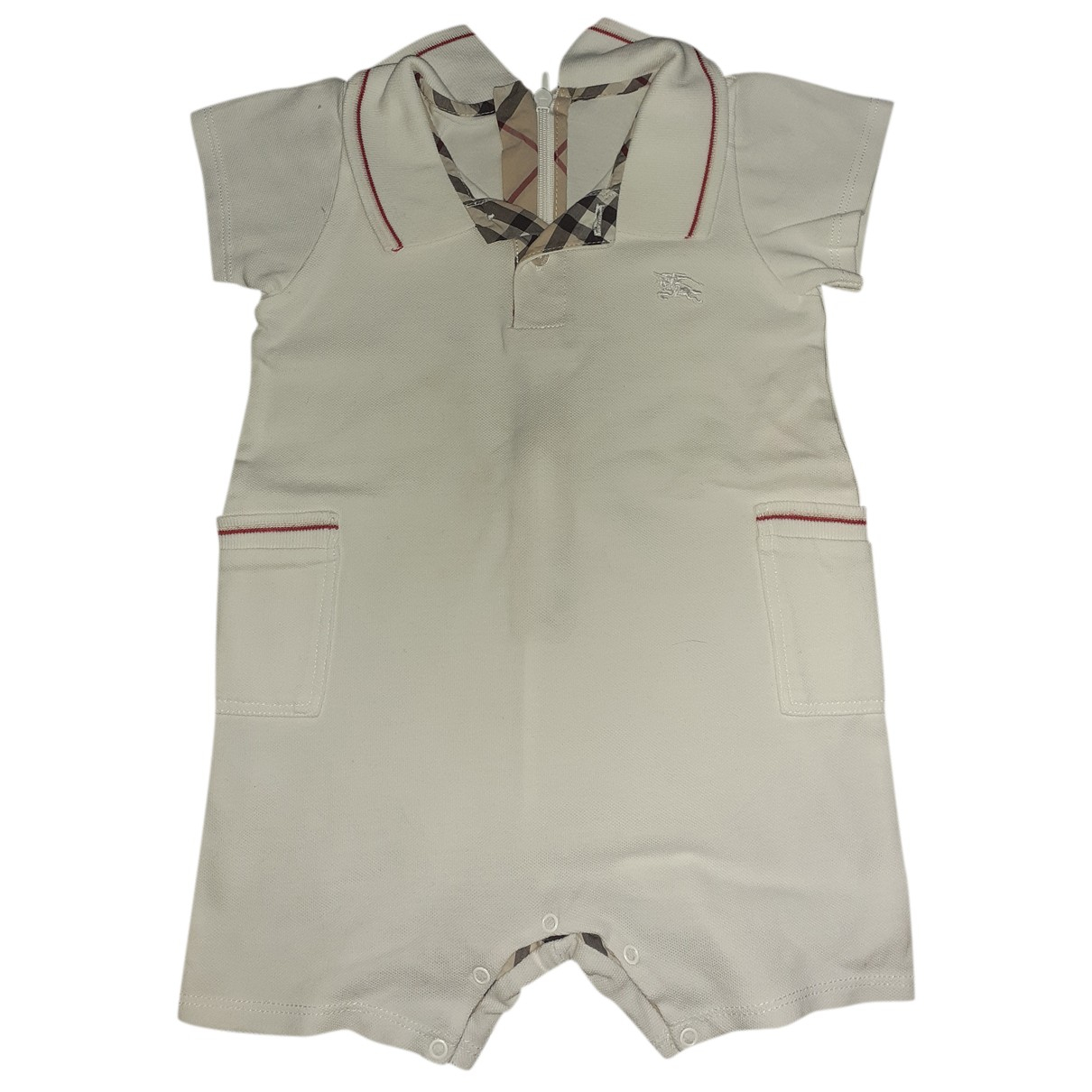 Burberry N White Cotton Outfits for Kids 9 months - up to 71cm FR