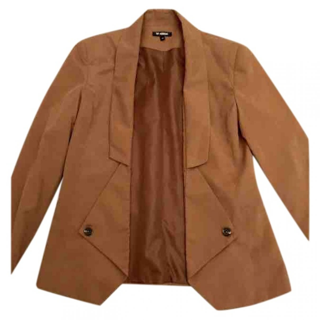 Minimum \N Camel jacket for Women 36 IT