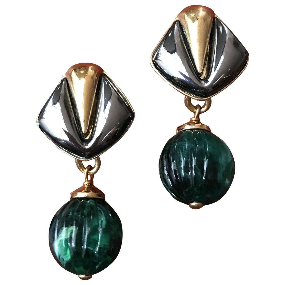 Valentino Garavani - Boucles doreilles   pour femme en metal - vert