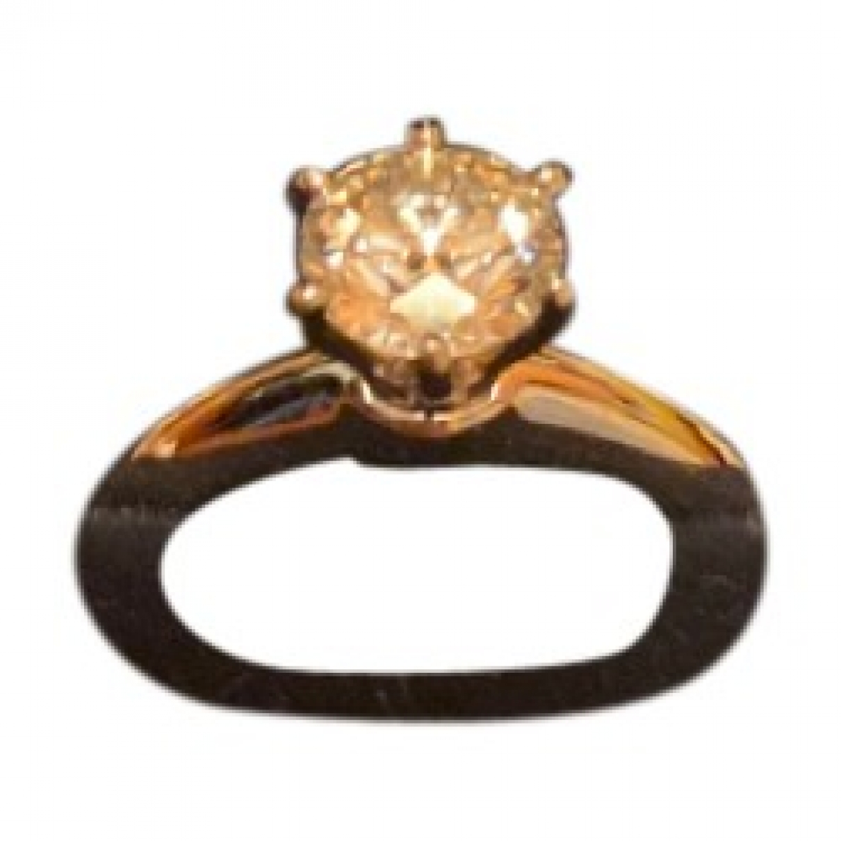 Tiffany & Co \N Ring in  Weiss Weissgold