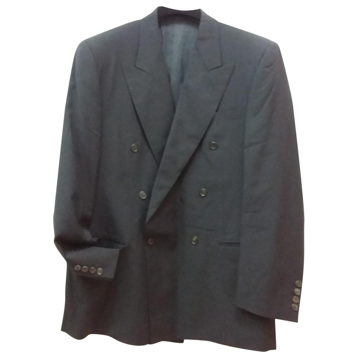 Gianfranco Ferre - Vestes.Blousons   pour homme en laine - noir