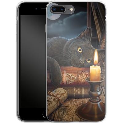 Apple iPhone 8 Plus Silikon Handyhuelle - Witching Hour von Lisa Parker
