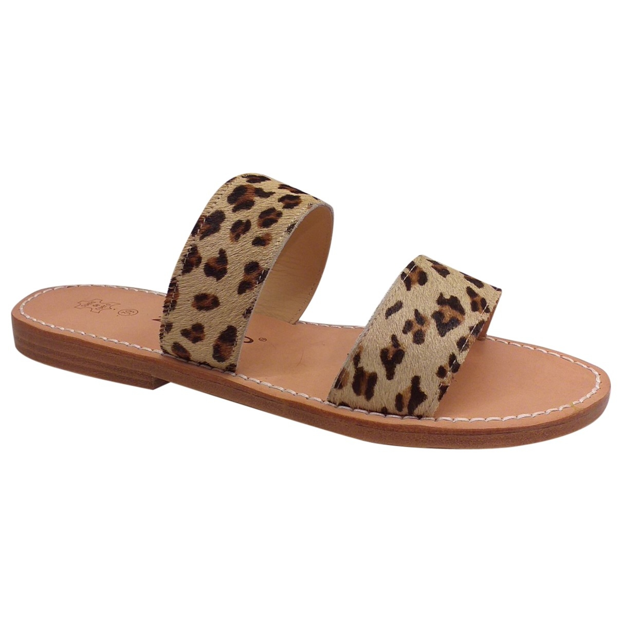 Non Signé / Unsigned \N Camel Leather Sandals for Women 39 EU