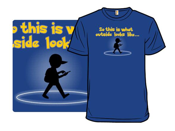 Go Outside T Shirt