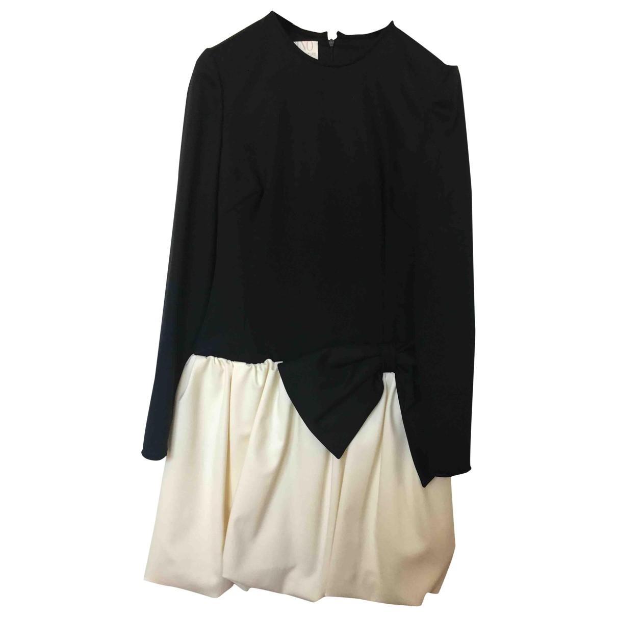 Valentino Garavani - Robe   pour femme en laine - noir