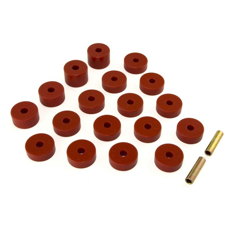 Bushing Set Body Mount 1974-1975 CJ by Rugged Ridge 18351.07 Jeep 1974-1975