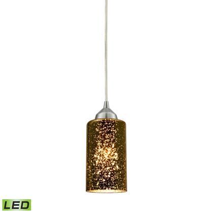 10505/1-LED Illusions 1 Light LED Pendant in Polished