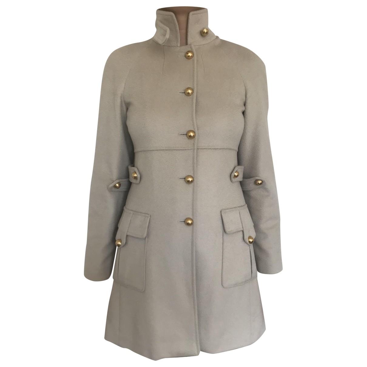 Fendi \N Beige Cashmere coat for Women 38 FR