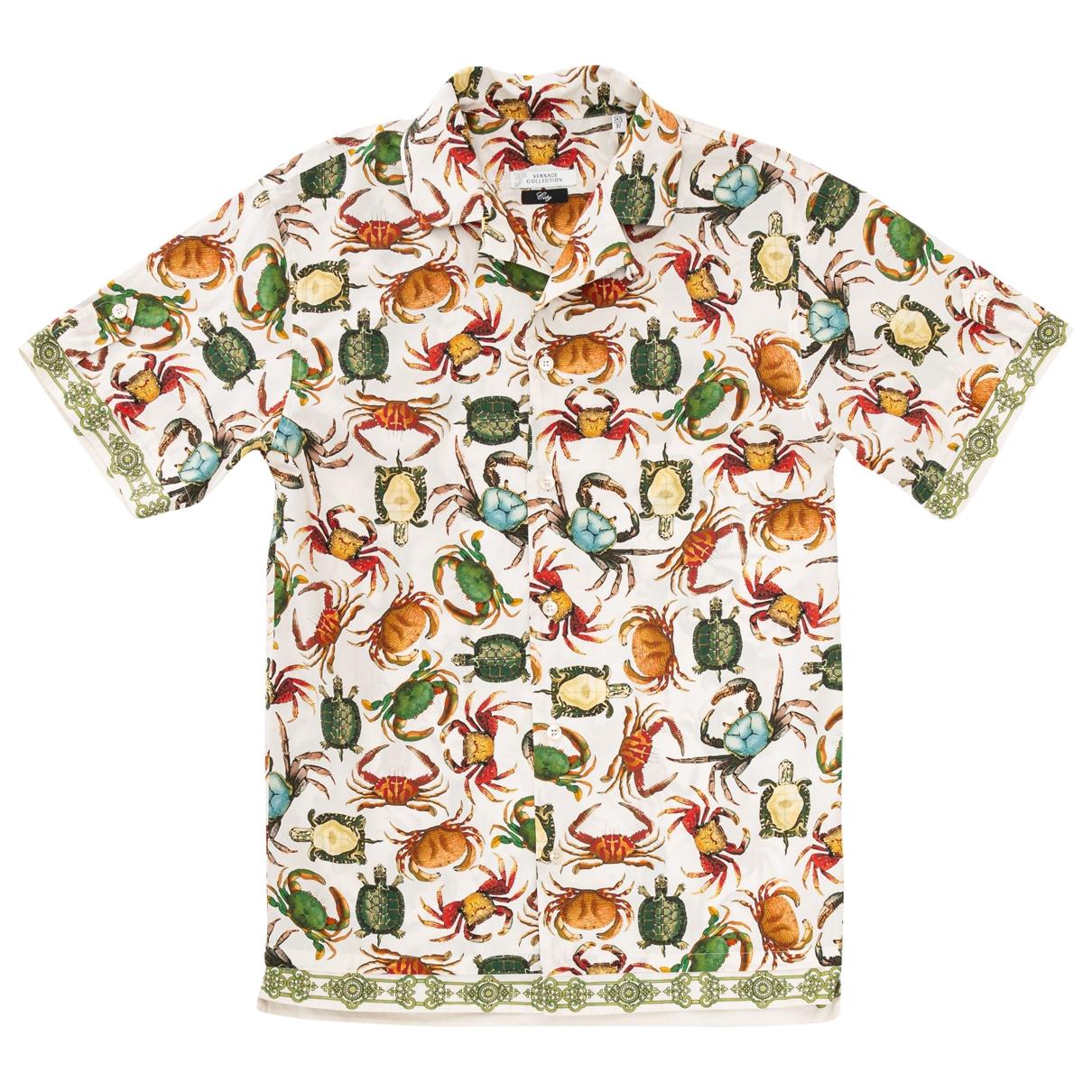 Versace - Chemises   pour homme en coton - multicolore