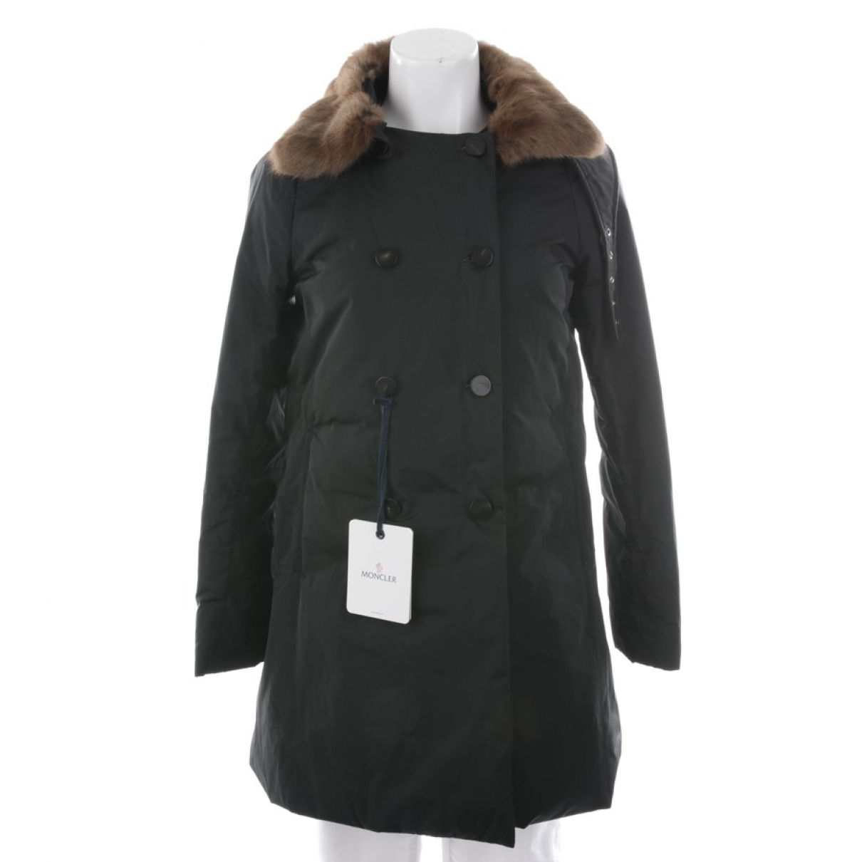 Moncler \N Black jacket for Women 36 FR