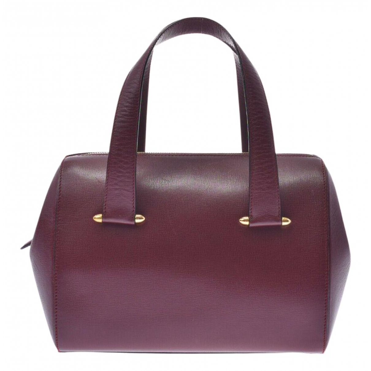 Cartier N Burgundy Leather handbag for Women N