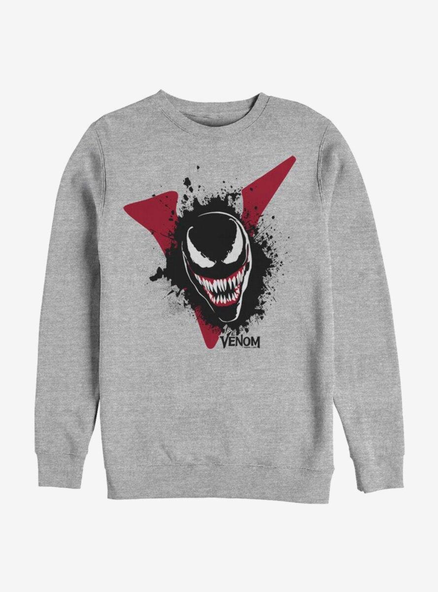 Marvel Venom Big V Venom Sweatshirt