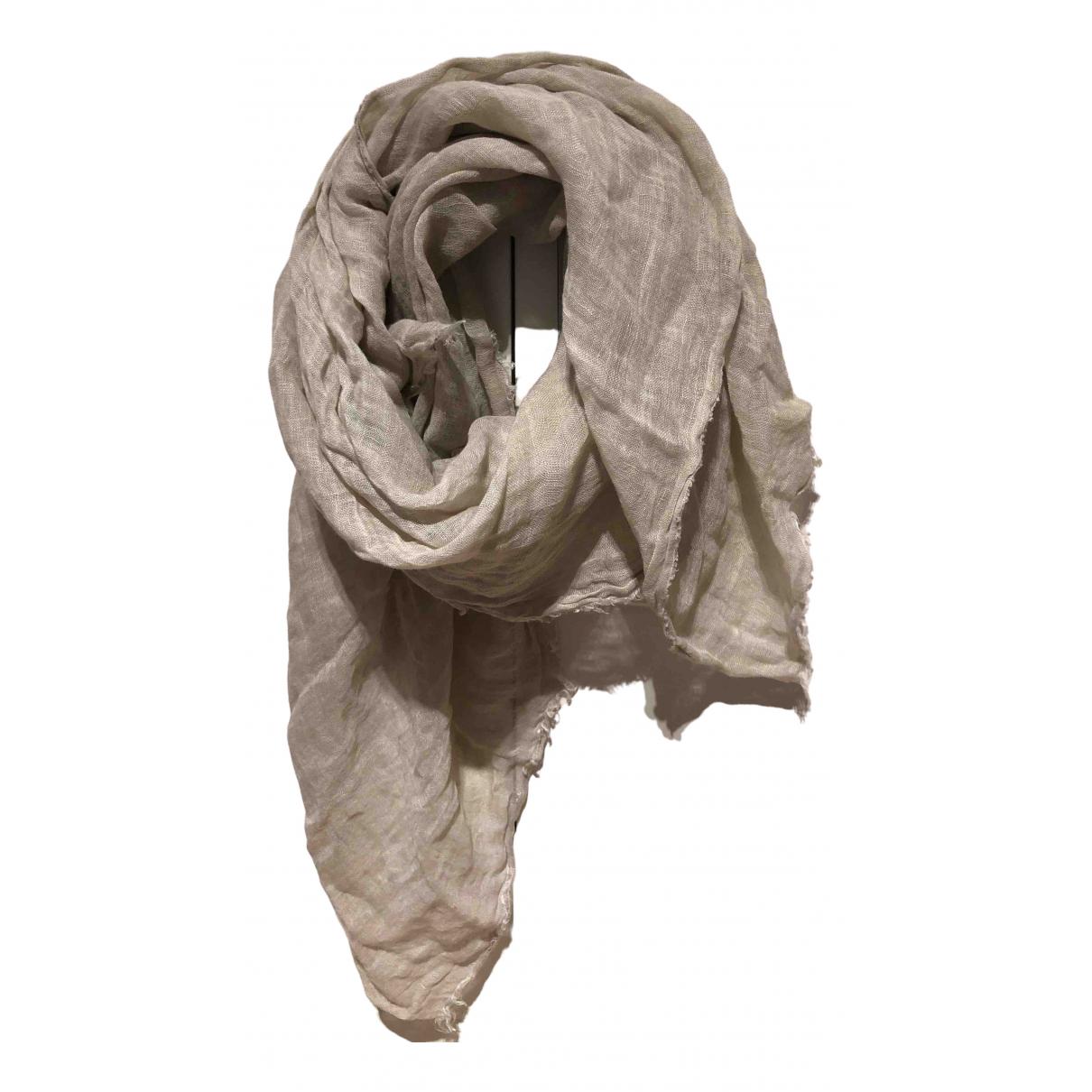 Malababa - Foulard   pour femme en coton - beige