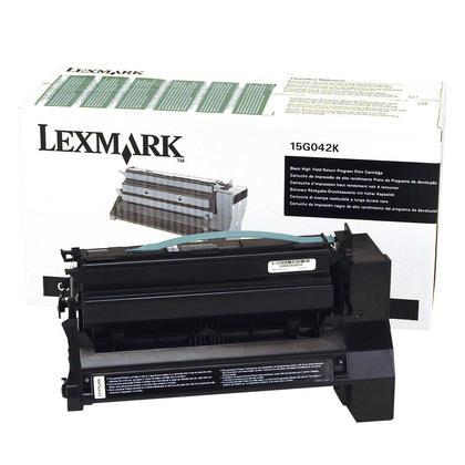 Lexmark 15G042K cartouche de toner du programme retour originale noire haute capacité