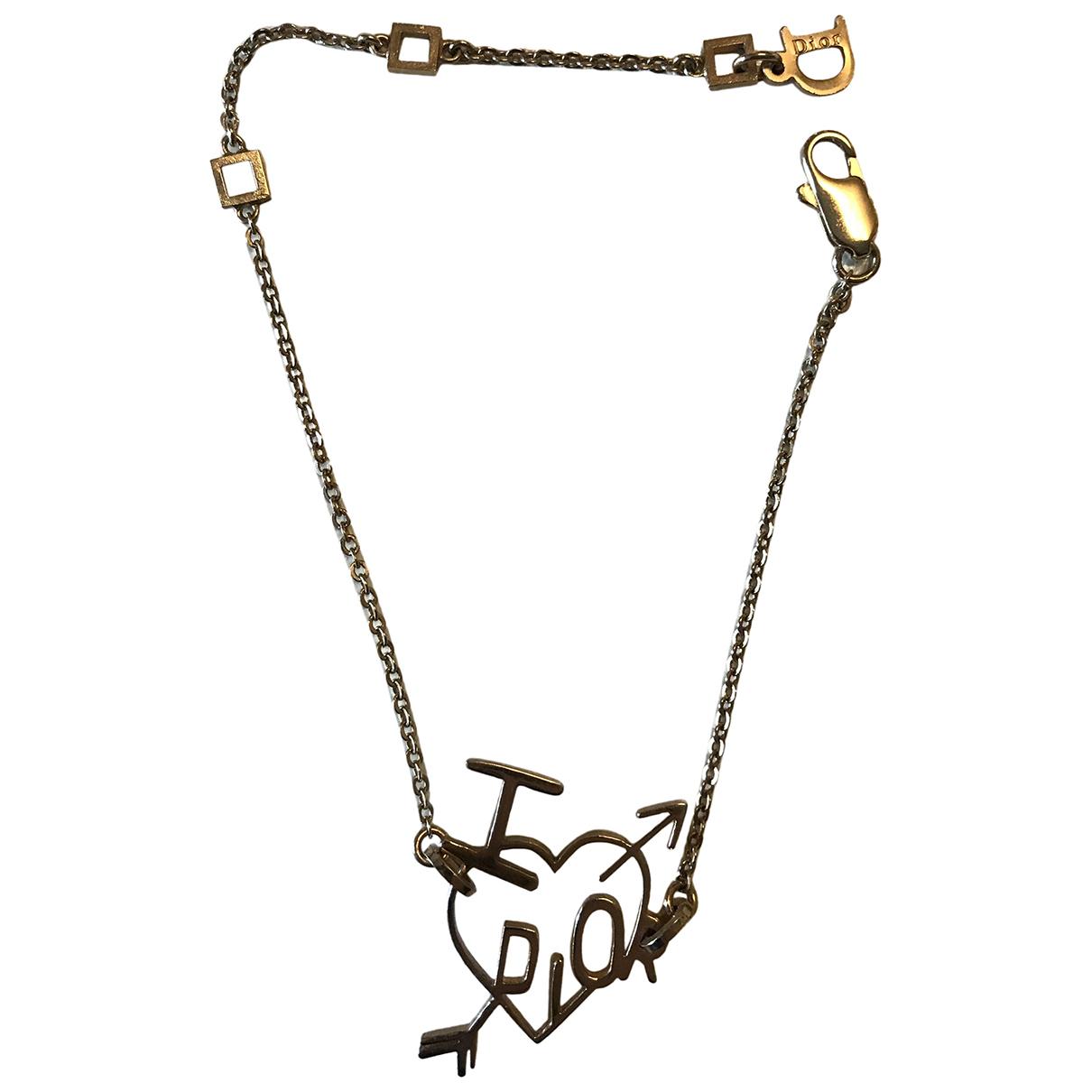 Christian Dior - Bracelet   pour femme en acier - dore