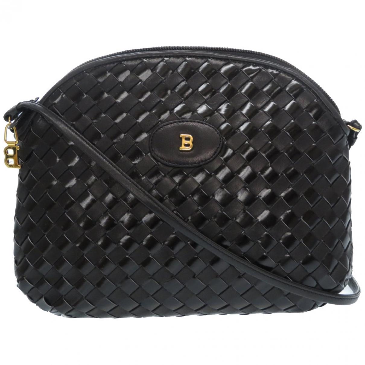 Bally \N Handtasche in  Schwarz Leder