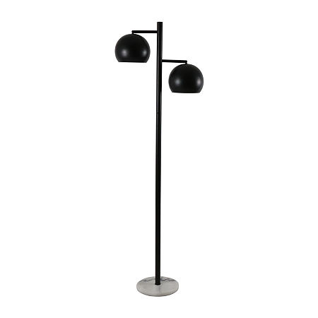 Decor Therapy Steel Floor Lamp, One Size , Black