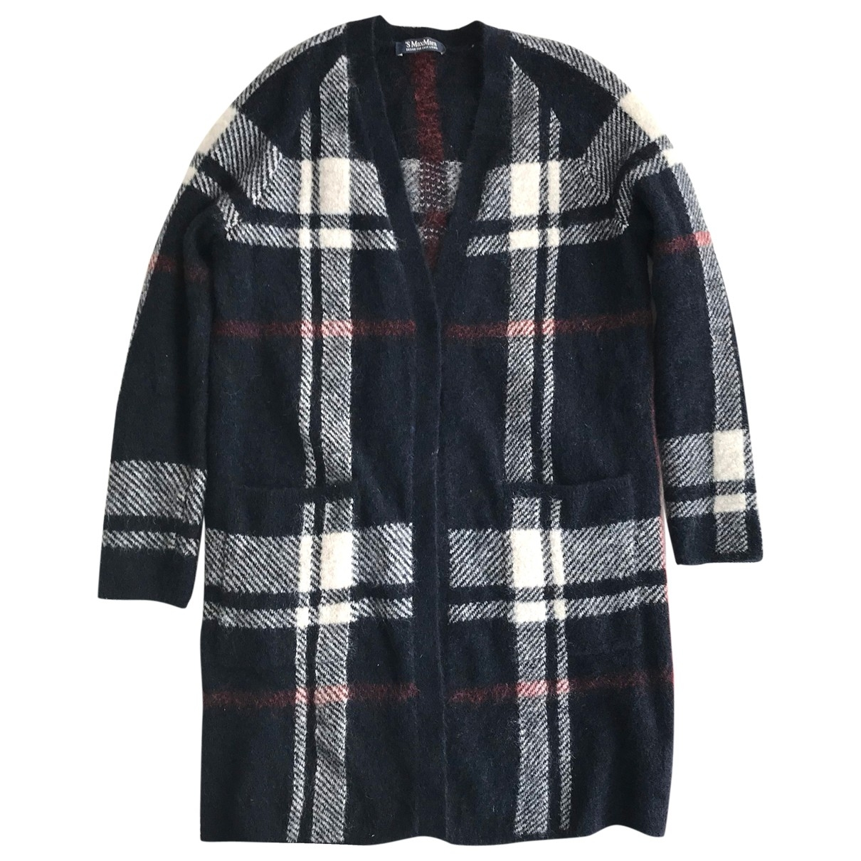 Max Mara 's \N Navy Wool Knitwear for Women S International