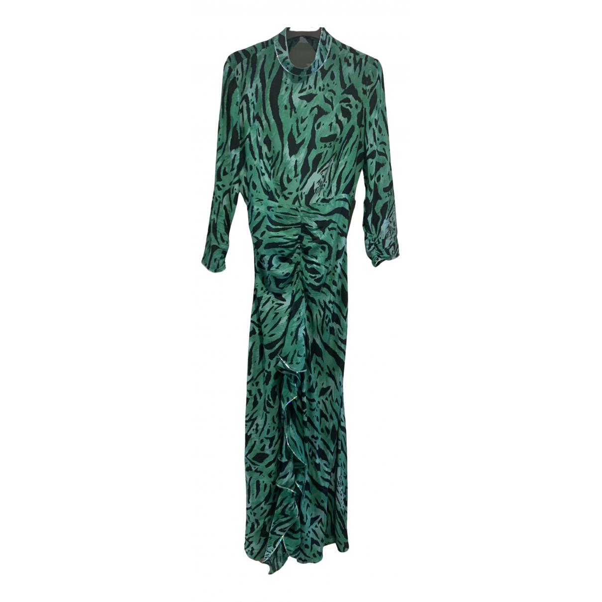 Maxi vestido de Seda Rixo