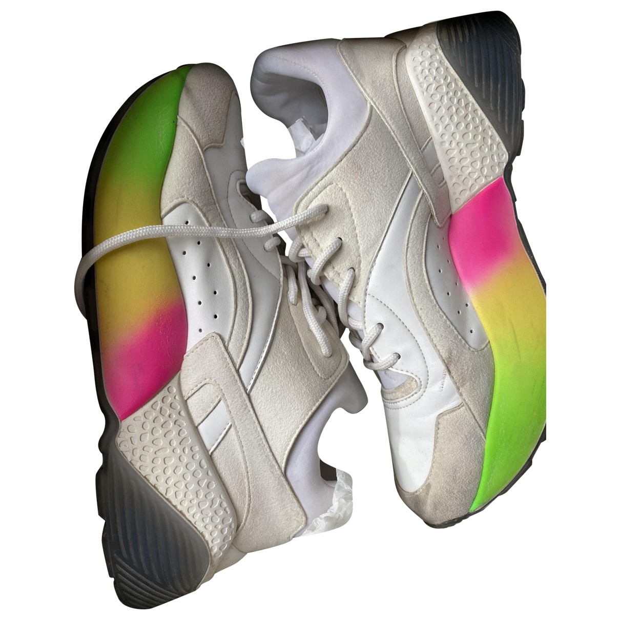 Stella Mccartney Eclypse Sneakers in  Ecru Leinen