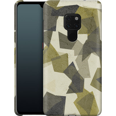Huawei Mate 20 Smartphone Huelle - Geometric Camo Green von caseable Designs