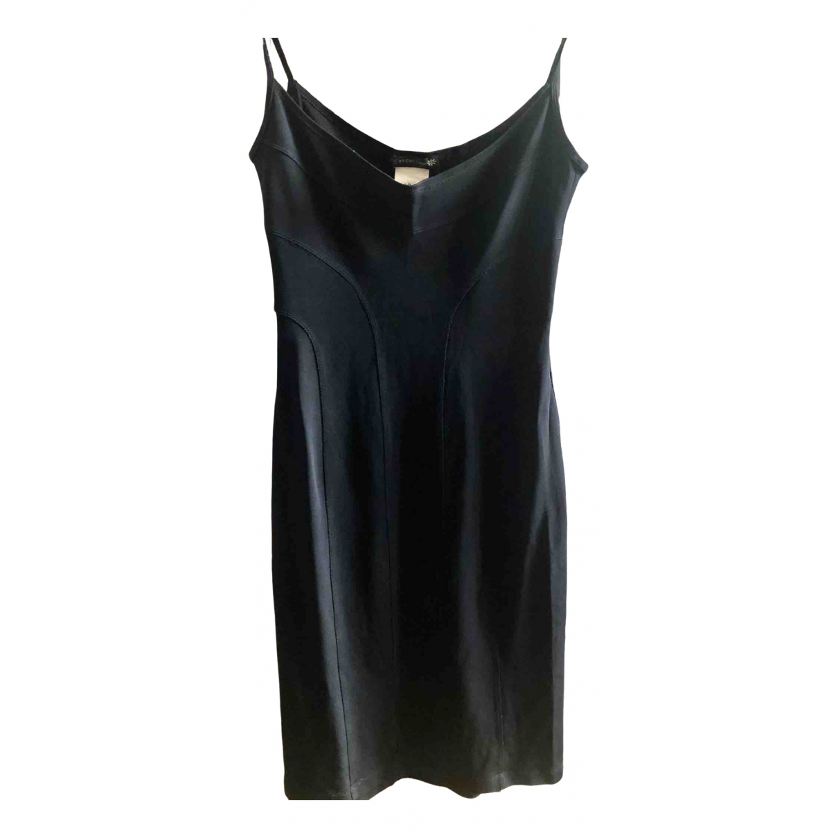 Plein Sud \N Kleid in  Schwarz Baumwolle - Elasthan