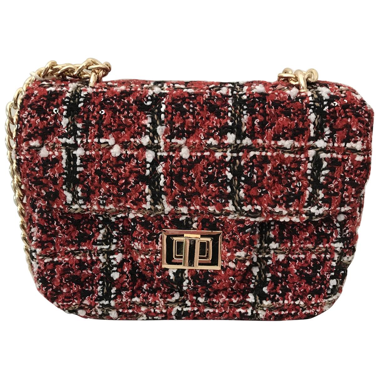 Autre Marque \N Handtasche in  Rot Tweed