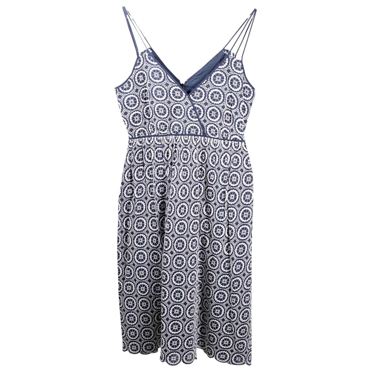 J.crew \N Kleid in  Blau Baumwolle