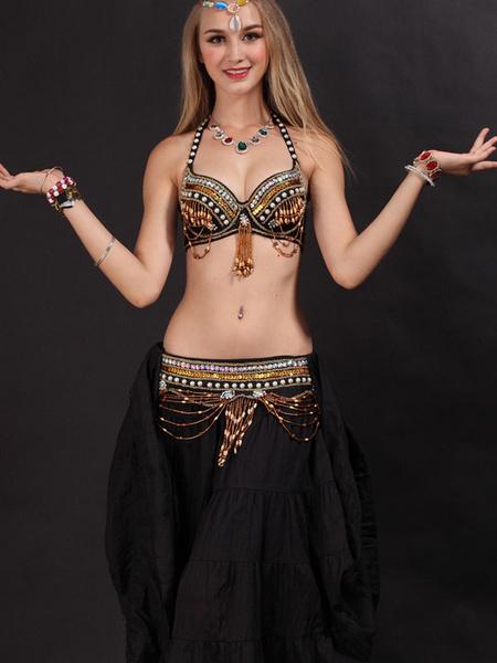 Milanoo Traje de danza del vientre Traje de danza de Bollywood