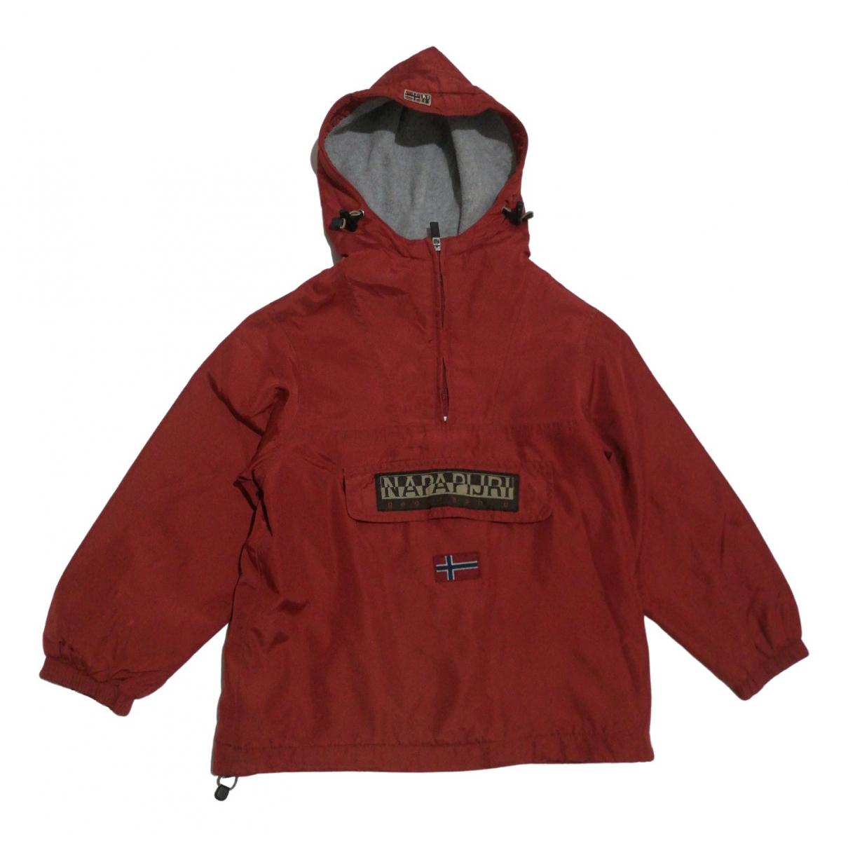 Napapijri - Blousons.Manteaux   pour enfant - bordeaux