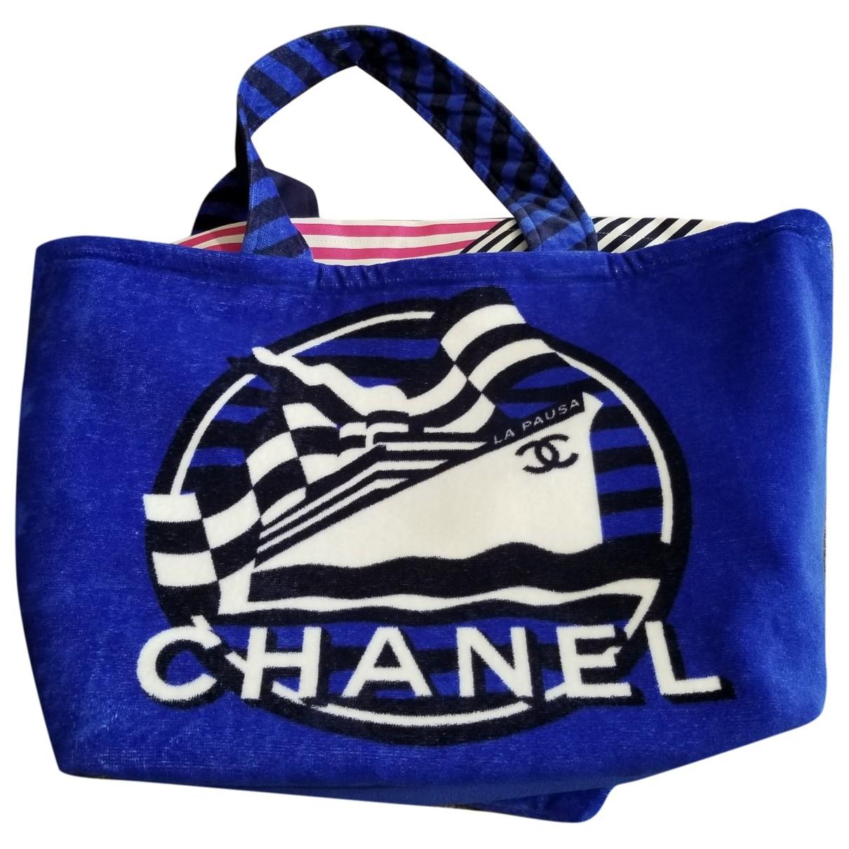 Chanel \N Blue Cotton handbag for Women \N