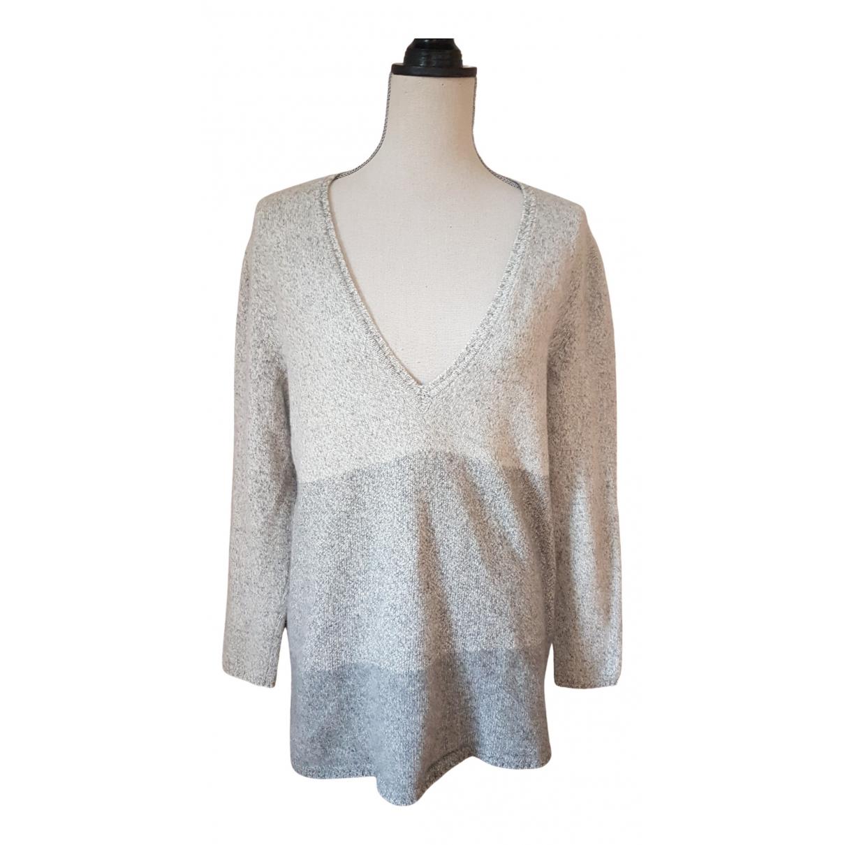 Eric Bompard N Grey Cashmere Knitwear for Women 38 FR