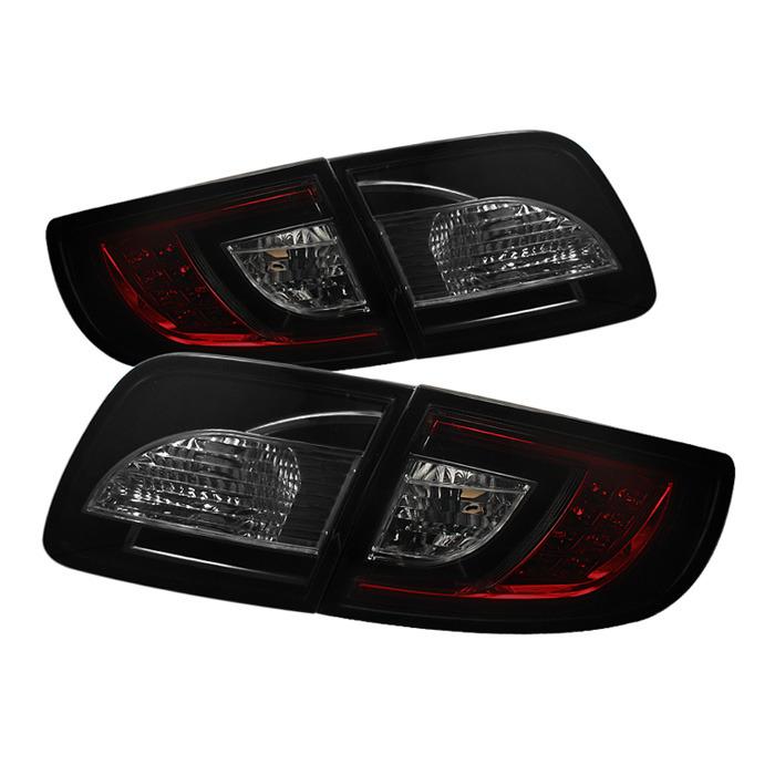 Spyder Auto ALT-YD-M303-LED-RS Red Smoke LED Taillights Mazda 3 4Dr Sedan 04-08
