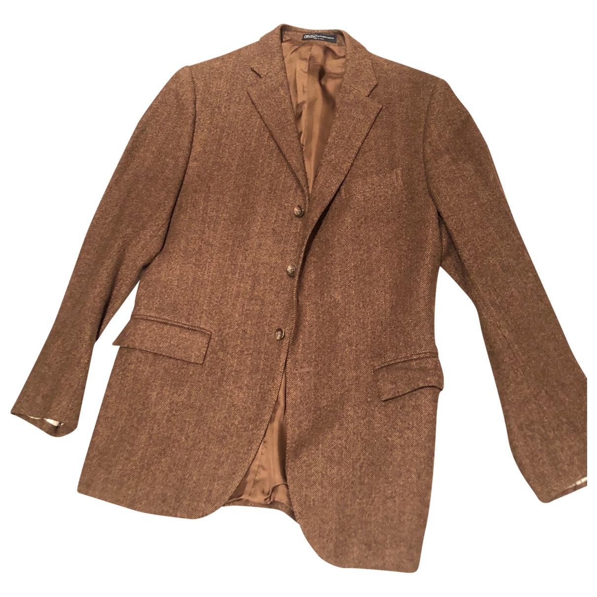 Polo Ralph Lauren - Vestes.Blousons   pour homme en cachemire - marron