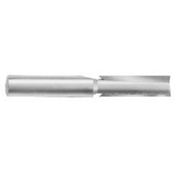 1041 Straight Cut Double Flute Router Bit 3/8