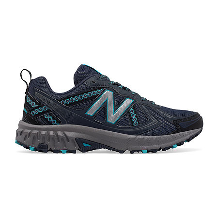 New Balance 410 Trail Womens Running Shoes, 8 Medium, Gray