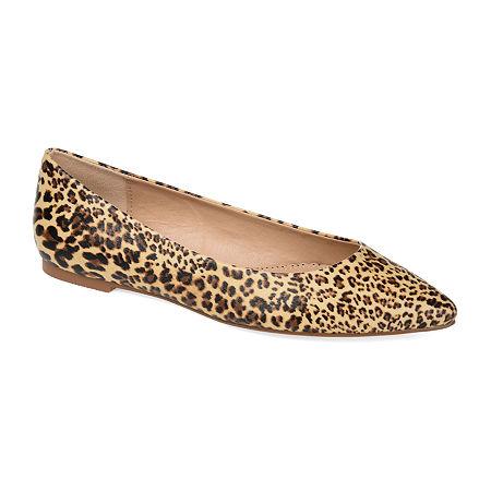 Journee Collection Womens Moana Slip-On Shoe, 5 1/2 Medium, Brown