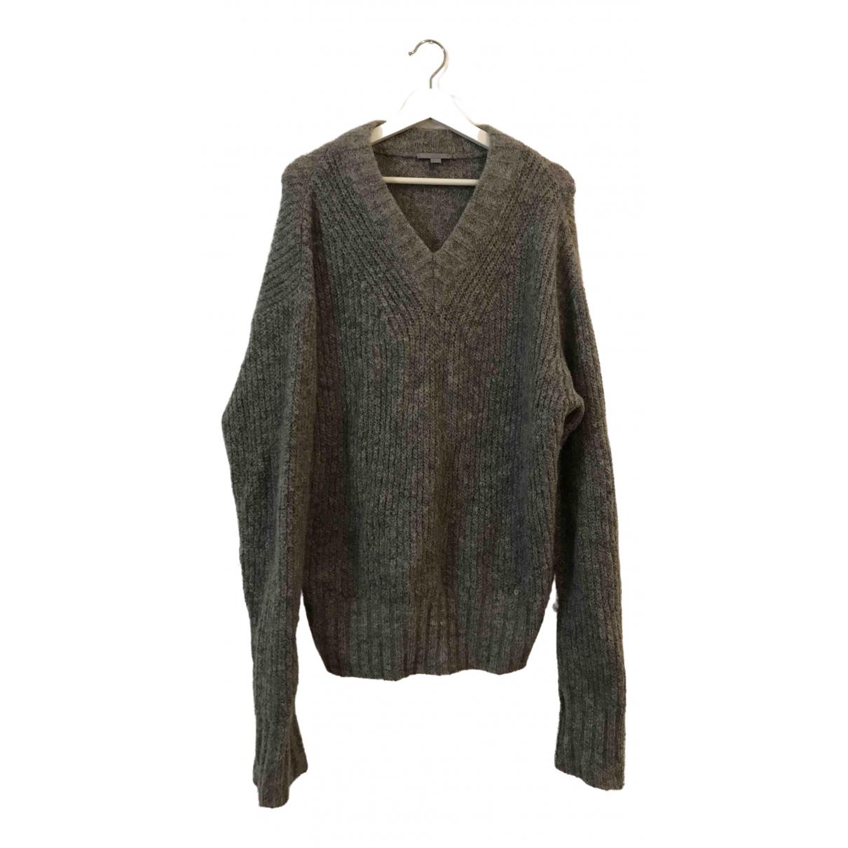 Cos \N Grey Wool Knitwear for Women 44 FR
