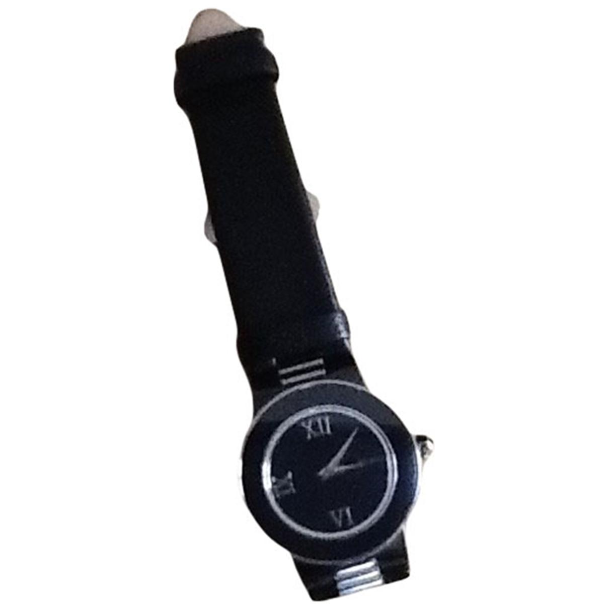 Mauboussin \N Uhr in  Schwarz Stahl