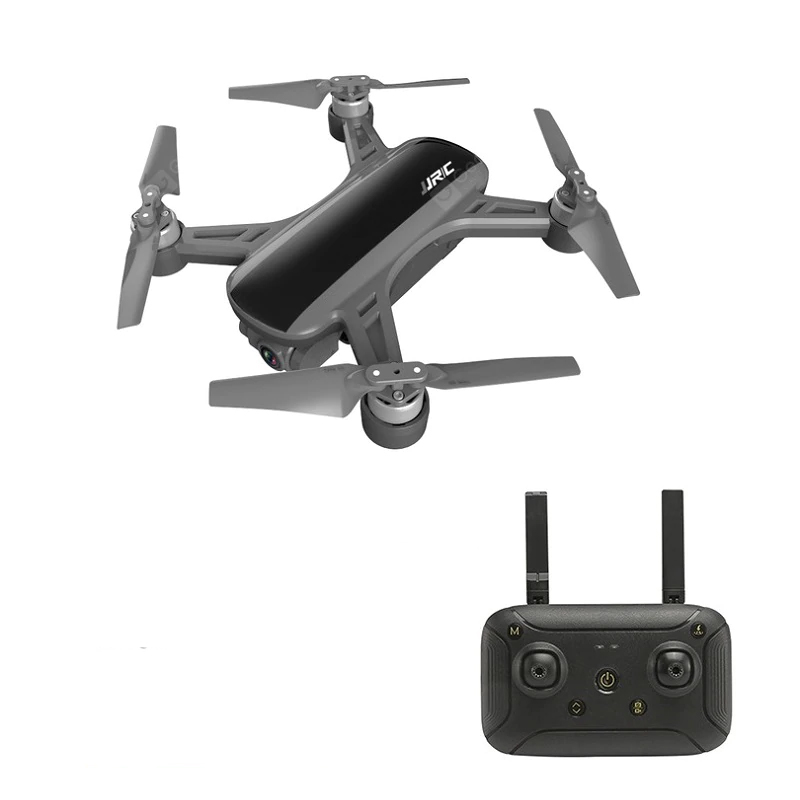 JJRC X9PS 4K 5G WIFI FPV Dual GPS RC Drone With 2-Axis Gimbal RTF - Black Two Batteries with Bag